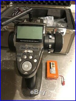 Futaba 4PK 2.4GHz Transmitter Radio with 2 NiMH Packs & Hardcase & Extras