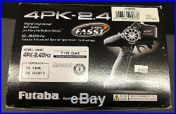 Futaba 4PK-2.4G Digital Proportional 4 Channel Race Radio System & R604FS