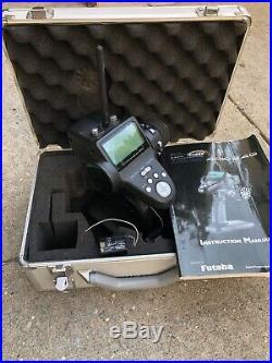 Futaba 4PK-2.4Ghz(FASST)4Channel Radio System & Spectrum Brief Case! 2 Recivers