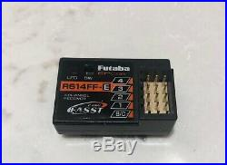 Futaba 4PK 4ch 2.4GHz Transmitter and R614FF-E Receiver Nice! Bonus Rx