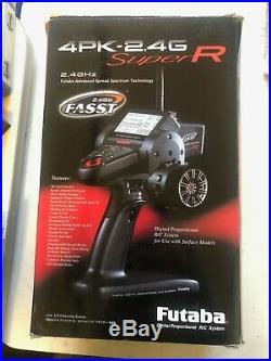 Futaba 4PK Super R radio system, Sanwa, Airtronics