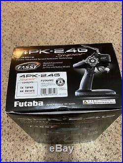 Futaba 4PK Transmitter FASST for 1/8, 1/10 RC car truck