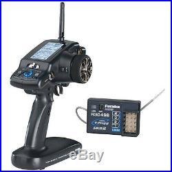 Futaba 4PLS 2.4GHz Radio withR304SB 4-Channel Telemetry Receiver FREE SHIPPING