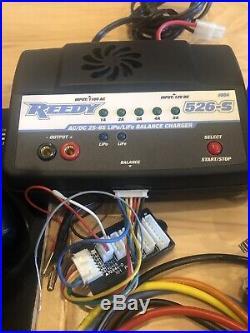 Futaba 4PLS 4-Ch Receiver, Battery, ESC, Motor, XP Servo, Telemetry Bundle