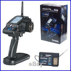 Futaba 4PLS 4-Channel 2.4GHz S-FHSS Telemetry Radio with R304SB Receiver FUTK1410