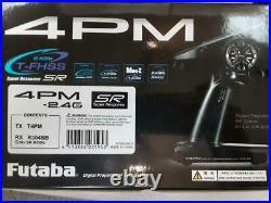 Futaba 4PM 4-Channel 2.4GHz T-FHSS Radio System withR304SB Receiver 01004388-3 New