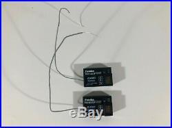 Futaba 4PM 4 Channel 4ch 2.4GHz T-FHSS RC Car Radio System with 2 R203GF Receivers