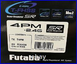 Futaba 4PM with 2 Receivers
