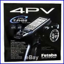 Futaba 4PV 2.4G 4 Channel T-FHSS Radio System R314SBx2pcs Receiver FREE Shipping