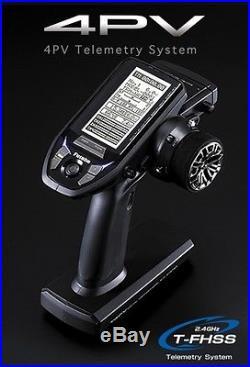 Futaba 4PV 2.4Ghz 4Ch T-FHSS RC Radio System Transmitter+R314SB Receiver x2