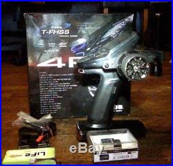 Futaba 4PX 4-Channel 2.4GHz T-FHSS Radio System, with included Receiver, LiFe bat