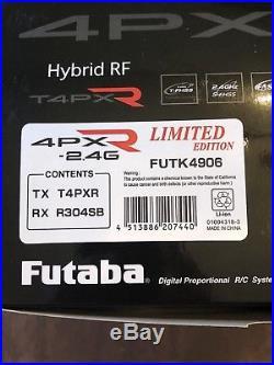 Futaba 4PX-R Limited Edition 4-Channel 2.4GHz T-FHSS Radio System with R304SB 4PXR