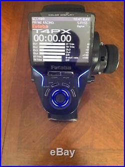 Futaba 4PX Radio set With 2 Rx, T4px 7px Sanwa