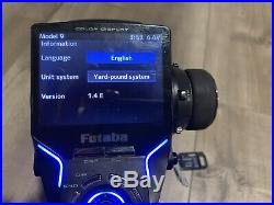 Futaba 4PX Radio set With Receiver And Protek Life Battery T4px 7px Sanwa