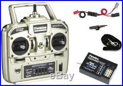 Futaba 4YF 4-Channel 2.4GHz FHSS Radio System with R2004GF Receiver FUTK4200