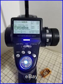 Futaba 4pk 4ch Tx Radio 2.4ghz For Rc Traxxas Axial Hpi Vaterra Rc4wd Winches