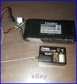 Futaba 4pk Super R FASST Transmitter + Receiver + Rechargeable Battery