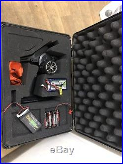 Futaba 4px With Hard Carry Case And Lipo Batteries