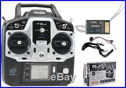 Futaba 6J 6-Channel 2.4GHz S-FHSS Radio System with R2006GS Receiver FUTK6000