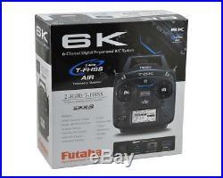 Futaba 6K 2.4ghz SFHSS TFHSS Airplane Radio System With R3006SB Receiver FUTK6100