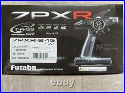 Futaba 7PXR 2.4GHz T-FHSS Telemetry Radio System withR334SBS-E 01004396-3 New