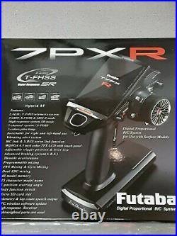 Futaba 7PXR 7-Channel 2.4GHz T-FHSS Telemetry Radio System withR334SBS 01004395-3
