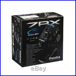 Futaba 7PX 2.4G 7 Channel T-FHSS Radio R334SBx2pcs Receiver FREE Shipping
