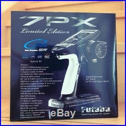 Futaba 7PX Limited Edition 7-Channel 2.4G T-FHSS Telemetry Radio with 2 x R334SBS
