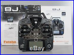 Futaba 8J 8JH 8 Channel RC Helicopter Remote Control Transmitter Only Version