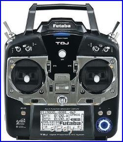 Futaba 8j 8ja 8ch Fhss Rc Airplane Remote Control Transmitter Only Version