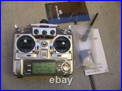 Futaba 9C T9CAP 9 Channel Transmitter With Spektrum 2.4g DM8 Module