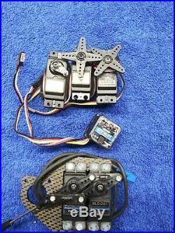 Futaba Bls251 S9202 Used Servos gy401 gyro