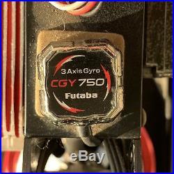 Futaba Cgy750 3-axis Gyro (flybarless Heli Controller)