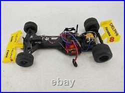 Futaba Delphi 1/10 Formula 1 F1 2wd RC Race Car Brushed ARTR Used