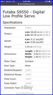 Futaba, Digital, Servo, Low Profile, S9550