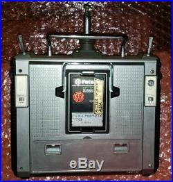 Futaba FP-T8SGA-P Transmitter Red PCM Radio RC Airplane Vintage