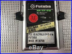 Futaba FP-T8SGH-P Transmitter PCM Radio RC Airplane Back to the Future Tested