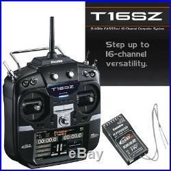 Futaba FUTK9460 16SZA 16-Ch Air FASSTest Telemetry Radio with R7008SB Receiver