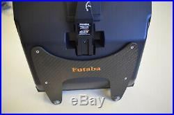 Futaba FX-30 transmitter with custom carrying case/ TX tray plus two R6008HS