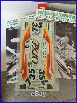 Futaba Fx10 Rc Offroad Model Kit Rc Buggy 1/10 Vintage Nos No Tamiya Nikko