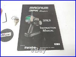 Futaba Magnum 3PK Super 3PKs Transmitter with PK-FSM2.4G Module & Carry Case