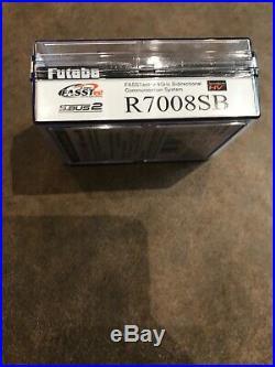 Futaba R7008SB 2.4ghz FASST FASSTest Full Range Receiver RX 14SG 18MZ FUTL7675