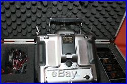 Futaba Radio RC Controller Synthesizer World Champion PCM 1024z 9 Ch In Case