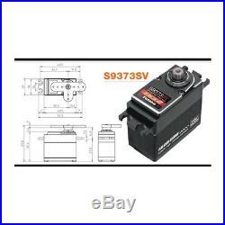 Futaba S9373SV HV S. Bus2 High Torque Voltage Aluminum Case P. G. RC Cars Servo
