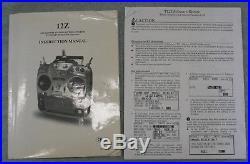 Futaba T12ZH RC TX TM-14 Fasst 2.4Ghz 12Z Helicopter Airplane MZ-FM 72Mhz