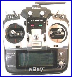 Futaba T12fg Transmitter With Tm14 2.4ghz Fasst Module Mode 1 Mint Condition