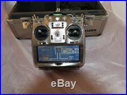 Futaba T14MZP 14 Channel 2.4 GHz FASST Mode-2 RC Transmitter 14 MZ
