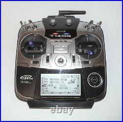 Futaba T14SG 14 Channel 2.4 GHz FASSTest Mode-1 RC Transmitter 14 SG
