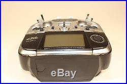 Futaba T14SG Digital RC Transmitter 2.4 Ghz + 4 Servos, Battery PreOwned Unused