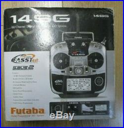 Futaba T14sg 14 Channel Transmitter Excellent Condition Mode 2 Boxed